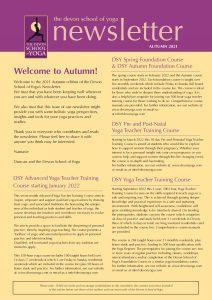 DSY 2021 Autumn Newsletter – Page 1